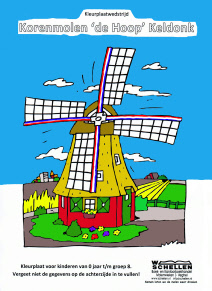 Gratis Kleurplaten Molen.150920 Persbericht